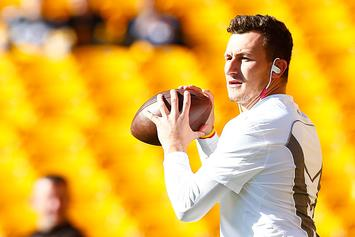 Johnny Manziel Approves Of Eminem's Idea To Bring Fighting To The AAF