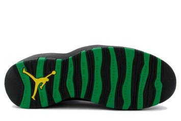 """Air Jordan 10 """"Seattle Supersonics"""" Returning For First Time Since 1995"""