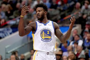 Warriors Jordan Bell Suspended For Charging Hotel Bill To Assistant Coach