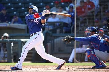 """Elvis Andrus Uses """"Baby Shark"""" As Walk-Up Song On MLB Opening Day"""
