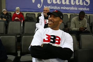 "Lavar Ball Reveals Big Baller Brand Is Still Alive: ""We Had A Snake"""