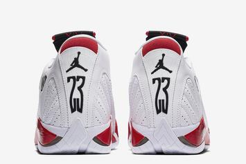 "Air Jordan XIV ""Candy Cane"" Returning For 20th Anniversary This Weekend"
