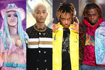 Cardi B, Jaden Smith, Juice WRLD & Gunna Sculptures Installed At Brooklyn Museum