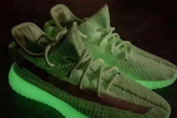 "Adidas Yeezy Boost 350 V2 ""Glow In The Dark"" Releasing This Summer: First Look"