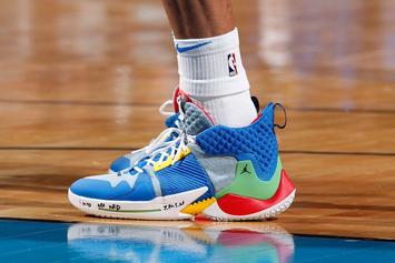 Russell Westbrook Laced Up Pokemon-Themed Jordans In Historic Performance