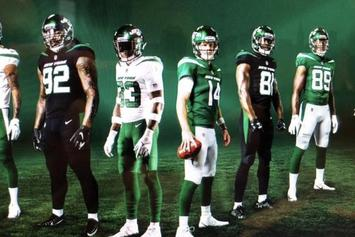 Are These The New York Jets' New Uniforms For Next Season?