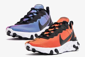 "Nike React Element 55 ""Sunrise And Sunset"" Pack Images & Details"