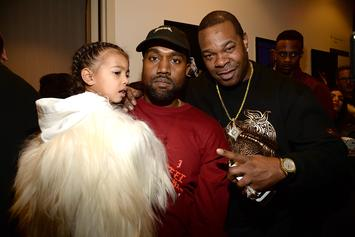 North West Continues To Perfect Her Performance Skills At Kanye's Sunday Service