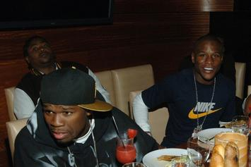 """50 Cent Clowns Floyd Mayweather Over Showdown With """"Filipina In Manila"""""""
