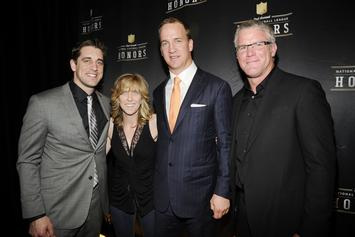 """Brett Favre Hails Aaron Rodgers """"The Best Player In The Game"""""""