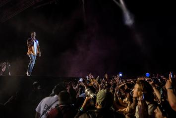 "Kid Cudi Dedicates ""Pursuit Of Happiness"" To Nipsey Hussle & Mac Miller At Coachella"