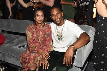 Karrueche Tran & Victor Cruz Are Loved Up At Coachella