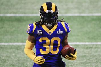 "Todd Gurley Offers An Update On His Knee: ""It's Feeling Pretty Good"""