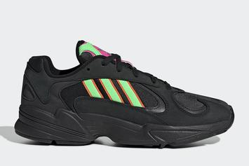 Adidas Yung-1 Reinvigorates Dad Shoe Wave With Black & Neon Colorway