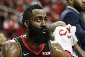 James Harden Humiliates Ricky Rubio With Shimmy, Ends Up Missing Shot