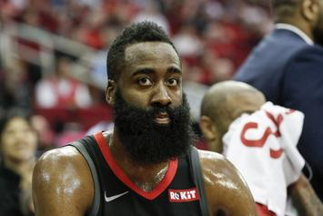James Harden Pays Tribute To Nipsey Hussle With Custom Chain