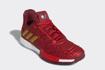 """""""Iron Man"""" Adidas Harden Vol. 3 Release Confirmed: Official Images"""
