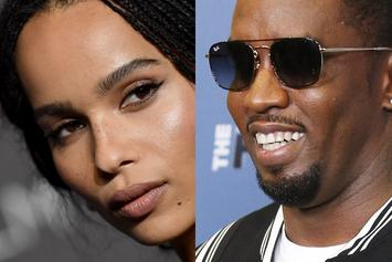 Diddy Is Completely In Awe Of Zoe Kravitz' Sultry Watermelon Pose