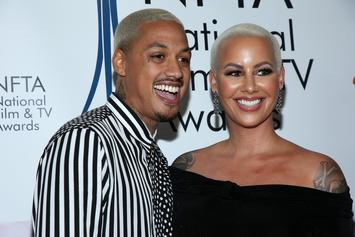 Amber Rose's Boyfriend Perfects His Step-Dad Skills In Preparation For Baby Boy