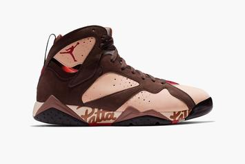 Patta x Air Jordan 7 Collab Releasing In Two Colorways: First Look