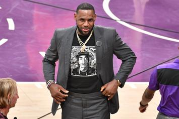 "LeBron James Denies Beef With The Lakers: ""It's Not True At All"""