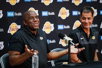 """Magic Johnson Posts Cryptic Tweet About """"The Truth"""""""