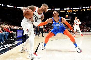 "Damian Lillard Says No Bad Blood With Westbrook: ""We're Actually Cool"""