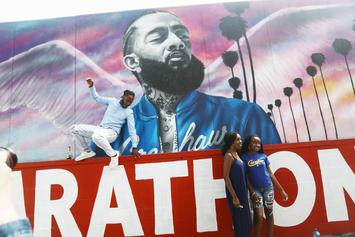 The Nipsey Hussle Memorial Has Been Fixed By Artist Joey Batts