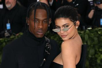 Travis Scott & Kylie Jenner Get New Tattoos At Rapper's Birthday Party