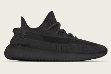"Adidas Yeezy Boost 350 V2 ""Black"" Releasing Alongside A Reflective Version"