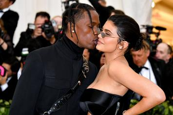 "Travis Scott Allows Kylie Jenner To Personally Tattoo Him During ""Branding Ritual"""
