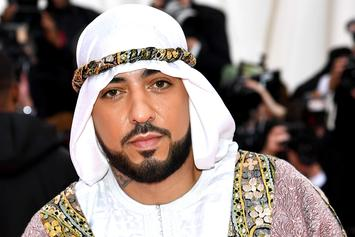 French Montana Hits Met Gala With Moroccan Drip Designed By Dapper Dan