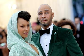 Swizz Beatz & Alicia Keys Keep It Classy At 2019 Met Gala