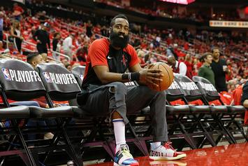 "James Harden's Adidas Sneaker Surfaces In ""MVP"" Colorway"