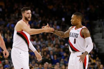 "Damian Lillard Calls Jusuf Nurkic ""Crazy"" For Wanting To Play Injured"