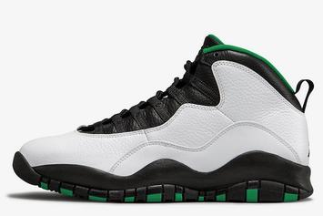 "Air Jordan 10 ""Seattle"" Returning This Fall: Release Details"