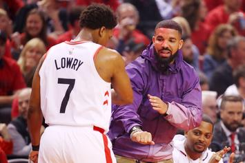Drake Waves Goodbye To Giannis Antetokounmpo After Fouling Out
