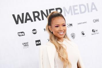 Karrueche Tran Celebrates 31st Birthday In Cozy Bikini