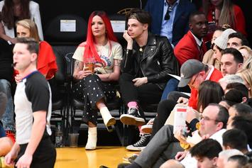 Halsey Is The Most Supportive Girlfriend Backstage Of Yungblud's Festival Performance