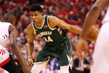 Giannis Antetokounmpo Isn't Worried About The Raptors Recent Comeback