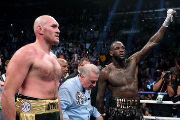 """Deontay Wilder Claps Back At Tyson Fury For """"Suck My Nuts"""" Comments"""