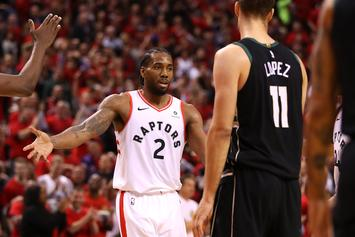 The Toronto Raptors (& Drake) Take Game 6 Of Eastern Conference Finals