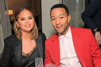 "Chrissy Teigen Reveals Nasty Bruises After She ""Fell Down A Flight Of Stairs"""