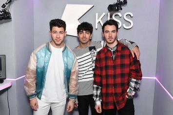 The Jonas Brothers Forced To Answer Awkward Question Posed By Miley Cyrus