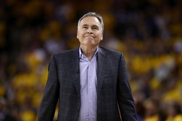 Mike D'Antoni Puts An End To Rockets Contract Extension Talks: Report