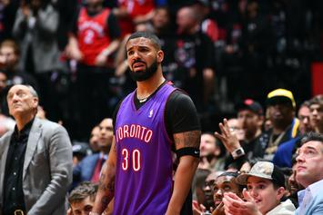 Drake Creatively Covered Up His Warriors Tattoos Last Night, Fans React