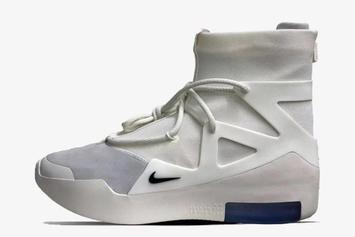 "Nike Air Fear Of God 1 ""Sail/Black"" Drops This Weekend: First Look"