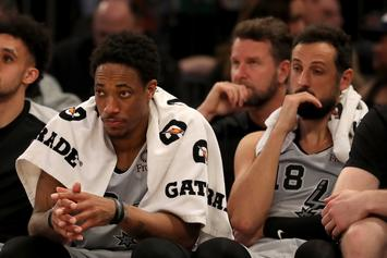 "DeMar DeRozan Calls Himself The Raptors ""Sacrificial Lamb"""
