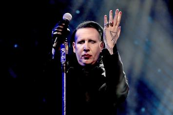 Marilyn Manson Mean Mugs In Flick With Taylor Swift & Twitter Went Crazy