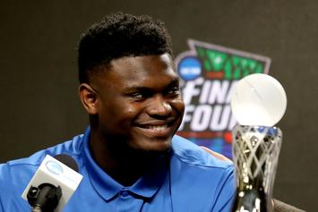 Zion Williamson's Golf Skills Prove He's Not A Beast At Everything: Watch